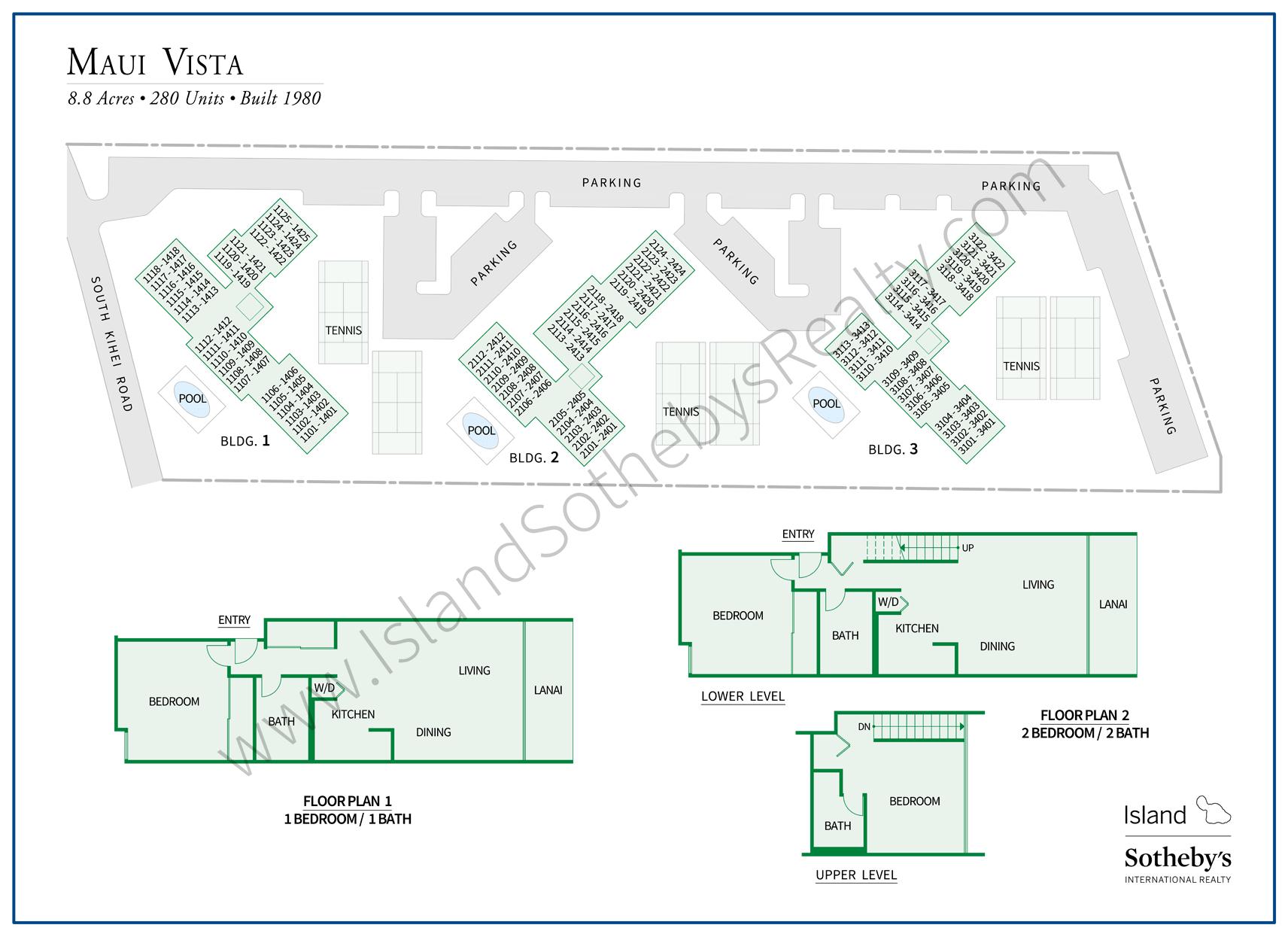 Maui Vista Condominiums Kihei Real Estate By Sotheby S Realty