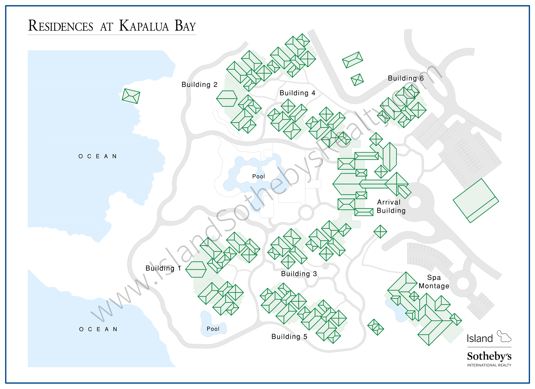 Map of Montage Kapalua Maui