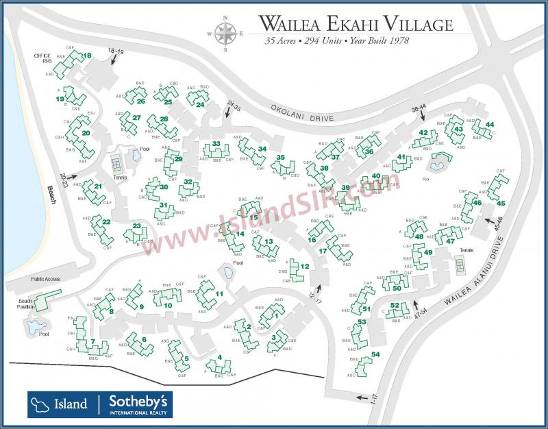 Wailea Hotels Map Wailea Ekahi Map
